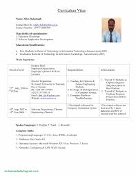 Resume Sample For Physics Teachers New Samples Lecturer In Puter Science