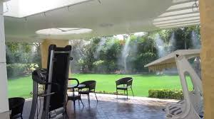Cheap Patio Misting Fans by Mistcooling Com Mist Cooling Systems India Misting Systems