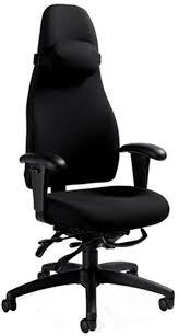 global obusforme high back ergonomic desk chair