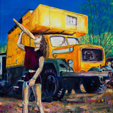 The Girl, The Bread And The Yellow Truck | Emma Plunkett's Art Gallery The Indian Truck Art Tradition Inside Cnn Travel Line Pating Truck Editorial Stock Image Image Of Space 512649 Spectrum Best Custom Paint Shop In Lewisville Texas Laurens Art Club Beach At Daytona Brewing Frugally Diy A Car For 90 Steps To An Affordably Good Rusty Old Trucks Artwork Adventures Saatchi Tall It Wasnt Here Yesterday 2 By On Vehicles Contractor Talk Pjs Spray Pjs Custom Food Andre Beaulieu Studio