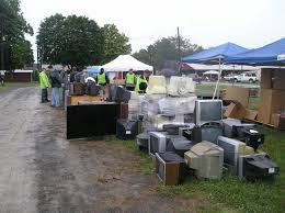 Baltimore County Christmas Tree Collection by Secure Data Destruction Hard Drive Shredding And Electronics