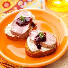 canapes recipes pork canapes taste of home
