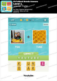 PicToWord Brands Answers Game Solver