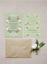 Chic Rustic Sage Green Boho Wedding Invitations