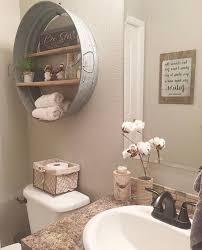 Half Bath Bathroom Decorating Ideas by Best 25 Rustic Bathroom Decor Ideas On Pinterest Half Bath Realie