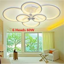 dimmbare aluminium led deckenleuchte wohnzimmer lichter lara techo suspension leuchte plafonnier led kreis decke le