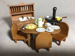 Calico Critters Sylvanian Families Country Kitchen Dining Room Furniture 1 Of 3 See More