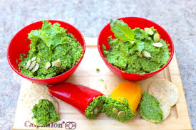 Picture Of Pumpkin Throwing Up Guacamole by Pumpkin Seed Kale Pesto Run Like Kale