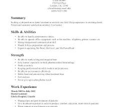 Example Nursing Resumes How To Make A Resume Skills Samples With No Experience Examples