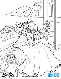 Barbie Coloring Pages Free Printable Page