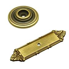 Cabinet Knob Backplates Oil Rubbed Bronze by Outstanding Cabinet Pull Backplate U2013 Blckprnt