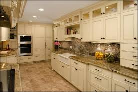 Kitchen Dark Cabinets Light Floors Grey Modern With White Black And Decor Gray