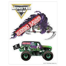 100 Monster Truck Decals Grave Digger Decal Pack Jam Stickers Decalcomania