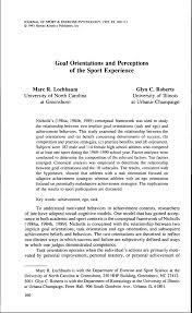 PDF Sport Commitment In Team Sports