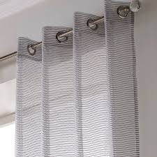 Striped Curtain Panels 96 by Atlanta Sparkle Stripe Voile Sheer Curtain Glitter Ready Made