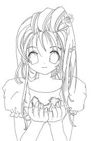 Cool Anime Coloring Pages Gallery KIDS Downloads Ideas