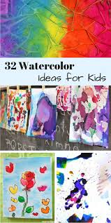 These Watercolor Painting Ideas For Kids Are So Creative And Fun Cant Wait