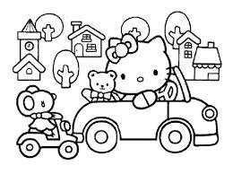 Hello Kitty 14 Coloriages Hello Kitty Coloriages Enfants Biboon