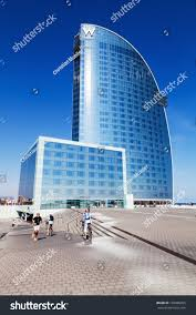 100 Barcelona W Hotel BARCELONA SPAIN OCTOBER 13 Stock Photo Edit Now