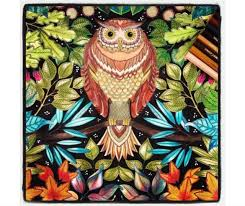 In Ones Imagination Owls Can Be Yellow And Red