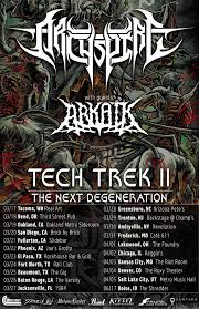 Tainted Halloween Candy Toronto by Archspire Embark On Headlining Us Tour Support For Psycroptic In