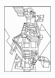 Coloring Pages Of The Diamond Minecraft Fresh Armor Color By