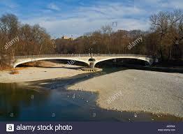 100 Water Bridge Germany Bridge Bavaria Munich Germany German Federal Republic River