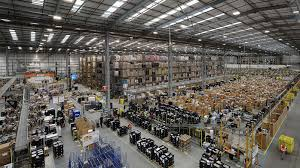 100 Warehouses Melbourne Amazon In Australia First Photos Of Employees Working At Victorian