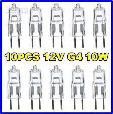 12v 10w g4 base jc bi pin halogen light bulbs l ls