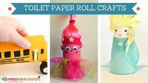 20 Cool Toilet Paper Roll Crafts For Kids