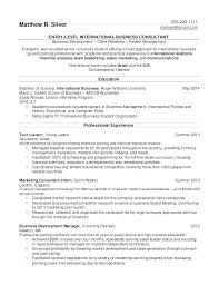 Clinical Psychologist Resume Example Psychology Objective Examples Job Obj