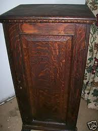 popsike Antique Record Cabinet with 75 early 1900 s records