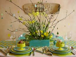Easter Table Decorations Spring Decoration