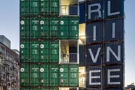 100 What Are Shipping Containers Made Of Residential Building Made From 140 Shipping Containers
