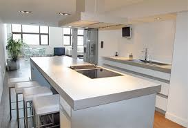 cuisine moderne ouverte cuisine moderne ouverte sur salon 2017 et decoration cuisine