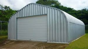 16 x 20 x 12 metal residential garage general storage building