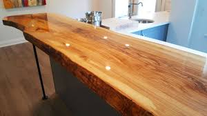 How To Install A Live Edge Bar Counter Top - YouTube Beauteous 10 Bar Counter Ideas Decorating Inspiration Of Top 25 Countertop For Colonial Marble Granite Build A 66 With Best Fetching Modern Designs Home Design With Dark Interior Northern Valley Cstruction Cool Tinderbooztcom Basement 7 And Surfaces 44 Reclaimed Wood Rustic Decoholic Easy Behind The Couch For Movie Night 8 Steps Pictures Top Detail Vs Old School Stools Unique And Interesting Finished