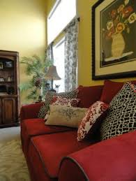 Red Country French Living Rooms by Luxury Living Room With Chesterfield Red Leather Sofa Luxury