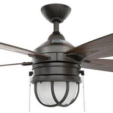 Outdoor Ceiling Fans Home Depot by Westinghouse Brentford 52 In Indoor Outdoor Aged Walnut Ceiling