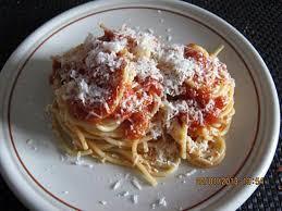 recette de spaghetti bolognaise par cremina