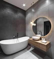 trendige baddesigns in grau fresh ideen für das interieur