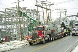 100 Messer Truck Equipment Transformer Weighing 41 Tons Cruises To Substation Local News