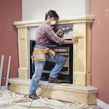 3 Way Wood Fireplace