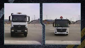Safer Trucks Direct Vision Comparison - YouTube