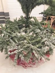 Flocking Powder For Christmas Trees by How To Flock A Christmas Tree The Turquoise Home