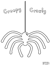 Scary Halloween Coloring Pictures To Print by Scary Spider Coloring Pages Coloring Home