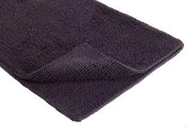 vorleger matten möbel wohnen schwarz 100 baumwolle