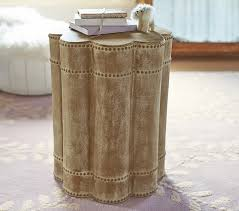 lorelei beaded side table pottery barn kids