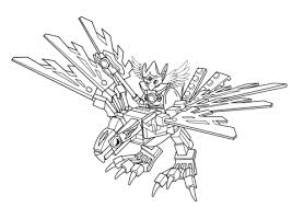Click To See Printable Version Of Lego Chima Eagle Legend Beast Coloring Page