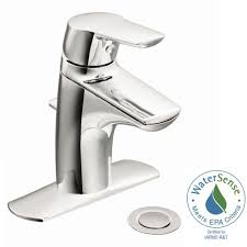 Moen 90 Degree Vessel Faucet by Separate Deck Plate Moen Bathroom Sink Faucets Bathroom